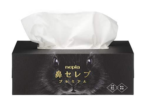 ネピア 鼻セレブ 鼻セレブプレミア ティッシュペーパー 保湿 390枚 [6191]