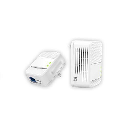 GUOJIAYI 1000Mbps KIT Gigabit 2.4 G e 5G dual band wireless Powerline Network Adapter AV1000 Ethernet PLC adattatore