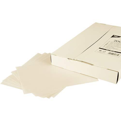 PAPSTAR 2000 Blatt Sahneabdeckpapier 22 cm x 16 cm Weiss, Sie erhalten 5 Packungen á 2000 Stück (insgesamt 10000 Stück)
