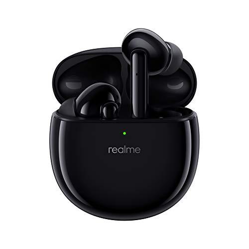 realme Air Pro Auriculares inalámbricos con 4 micrófonos ANC y función de reducción de Ruido Dual para 25 Horas de reproducción Clara IPX4 a Prueba de Agua