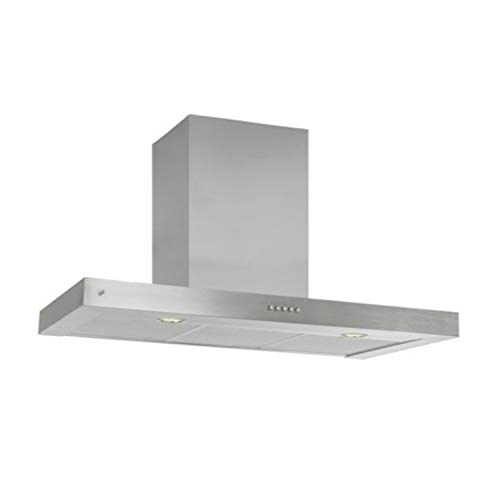 Campana extractora de cocina decorativa serie Box-900 E, 103 x 90 x 48 centímetros, color acero inoxidable (Referencia: 5215565100)