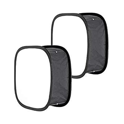 Neewer 2 Packs LED Light Panel Softbox for 660 LED Panel: 9.25x9.25 inches Opening, Foldable Light Diffuser with Strap Attachment and Carrying Bag for Photo Studio Shooting Portrait Photography
