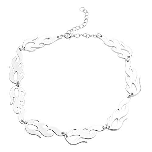 Collar De La Cadera Mujeres Hombres Llama Collar Gargantilla Collares Hop Accesorios Cool Chain Hombres Y Mujeres