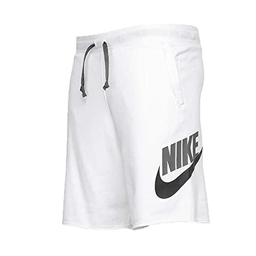 Nike AR2375-103 M NSW SPE Short FT Alumni Shorts Mens White/Iron Grey/Black L