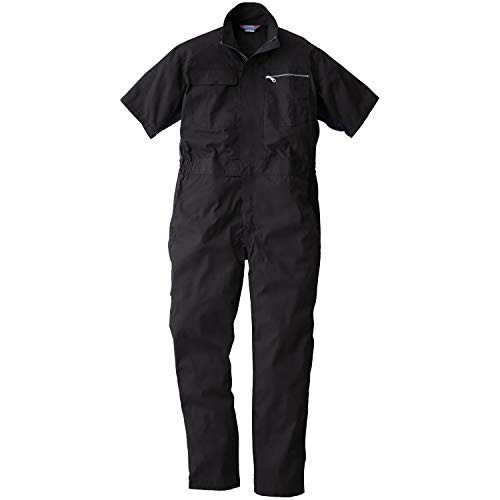 SOWA(ソーワ) 半袖続服 ブラック Mサイズ 39017