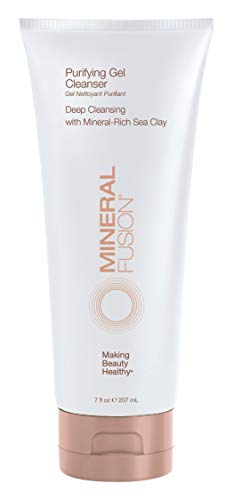 Mineral Fusion Facial Cleanser, Purifying Gel, 7 Ounce (Packaging May Vary)