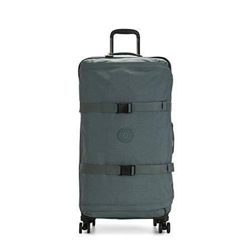 Kipling Spontaneous Softside Spinner Wheel Luggage, Light Aloe, Checked-Large 31-Inch
