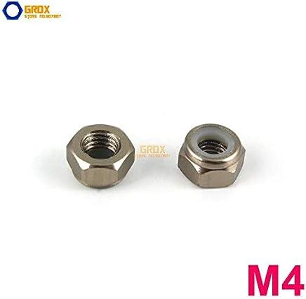 eDealMax 8 mm Diam/ètre du tube M6 Round Bend U-Bolt Fastener 10pcs