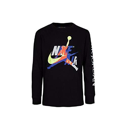 Nike Kinder Jumpman Classic Graphic Tee Langarmshirt XL Schwarz (Black)