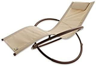 Original Orbital Zero Gravity Lounger in Beige by RST Brands