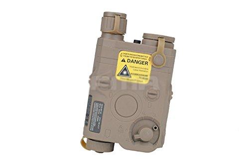 Marine Dichtung PEQ-15 Dummy Batterie Fall für Taktisch AEG Airsoft Anzeige DE