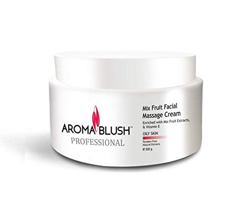 Aroma Blush Facial Massage Cream For Oily Skin With Vitamin E Extract (Mix Fruit)