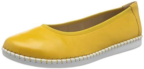 CAPRICE Inna, Ballerine Donna, Giallo (Sunflower Soft 620), 38 EU