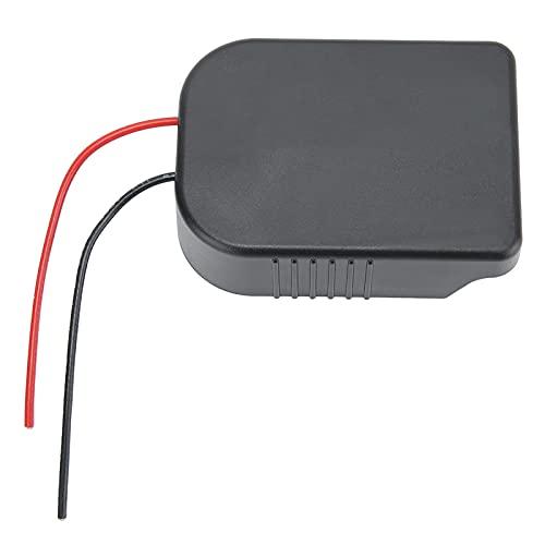 Makita-Adapter, ABS 18V-Batteriekonverter mit 10-Zoll-12-Draht-Kabelwerkzeug-Batteriepack-Adapter für Makita/Bosch-Serie 4,3 x 3,5 x 2,4 Zoll