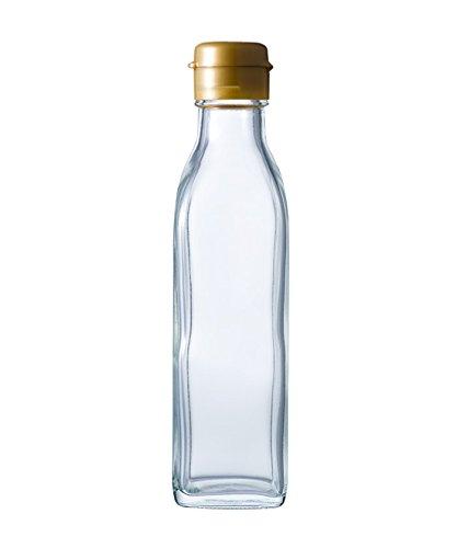 SO-200角A-N ドレッシング瓶212ml ((ふた)金ヒンジ)
