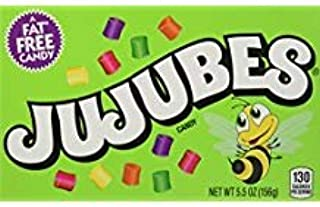 JUJUBES GUMMY CANDY 5.5 OZ. (3 PACK) (FAT FREE CANDY)
