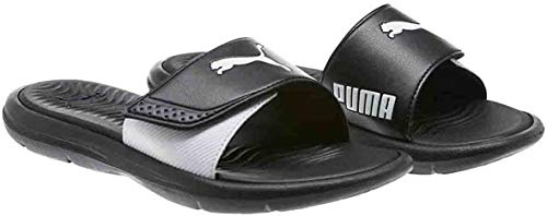 PUMA Ladies Slide Sandal (7, Black)