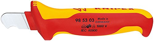 KNIPEX Abmantelungsmesser 1000V-isoliert (170 mm) 98 53 03