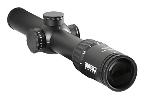 Steiner 5102 T5Xi 1-5x24mm Tactical Rifle Scope,...
