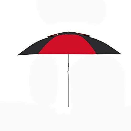 Unbekannt Tragbare/Wild/Out/Bequem/Mode/Outdoor/Angeln Regenschirm/Regen/Falten/Sonnenschirm/Regenschirm/Teleskop/Bequem/Reisen (Color : A, Size : 2.0M)