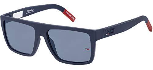 Tommy Hilfiger Gafas de Sol TJ 0004/S MATTE BLUE/BLUE 54/16/140 unisex