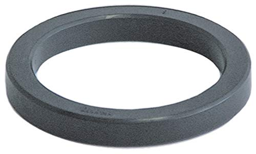 Junta universal de soporte de filtro para cafetera, compatible con Gaggia, sello de goma, diámetro exterior 73 mm, interior 57 mm, altura 9 mm