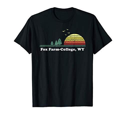 Vintage Fox Farm, Delaware Home Souvenir Print T-Shirt