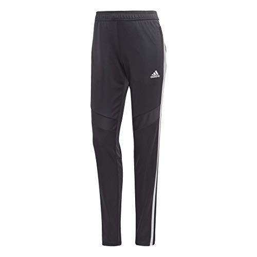 adidas Pantalón de Entrenamiento Tiro19 para Mujer, Mujer, Pantalones, S1906GHTAN103W, Gris Oscuro/Blanco, M
