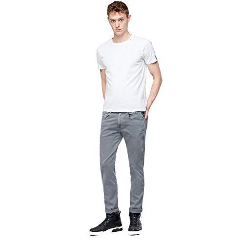 REPLAY Anbass Hyperflex - Pantalones Vaqueros para Hombre