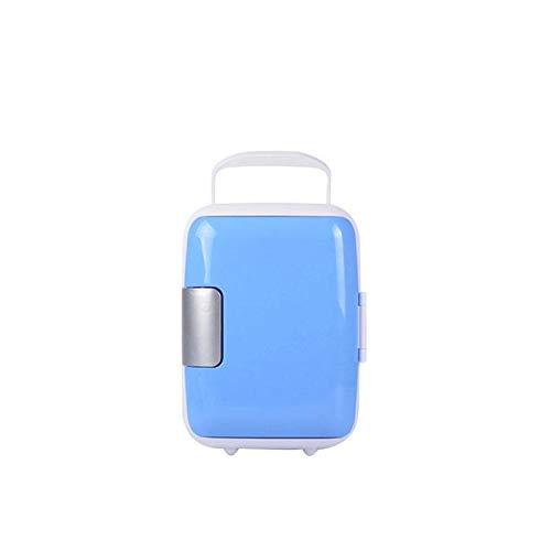 outingStarcase 4L Coche Mini refrigerador 12V / 220V 50W Frigorífico portátil Congelador Frigorífico Calefacción Caja de refrigerador Caja de nevera Compresor de refrigerador con línea