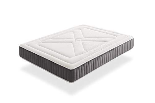 IKON | Bio Ceramic Visco | Colchón 90x190 cm Viscoelástico Reversible