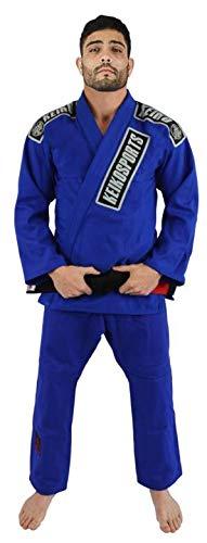 Keiko Sports Kimono Jiu Jitsu, Tam A0, Azul
