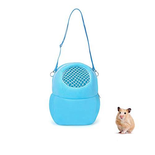 Haustier-Tragetasche, tragbare Reise-Handtasche mit Nylonriemen, kleine Haustier-Tasche für Hamster, Ratten, Igel, Kaninchen
