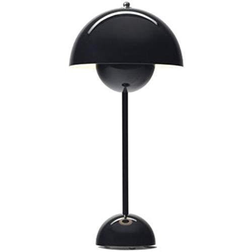 CLEAVE WAVES Lámpara De Mesa Moderna Led Estilo Rural Hierro Negro E27 Lámpara De Noche para Dormitorio Lámpara De Lectura Escandinava Oriental Lámpara De Lectura 230v