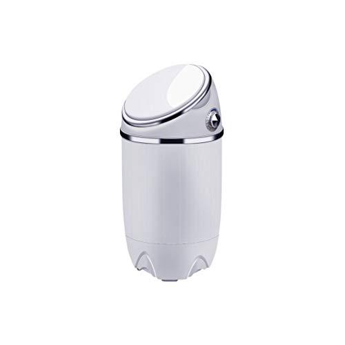 RMXMY Mini portátil Compacto Lavadora Lavadora Máquina portátil multifunción Inicio semiautomática con Dry deshidratación 690 * 340 * 340 mm, Blanca