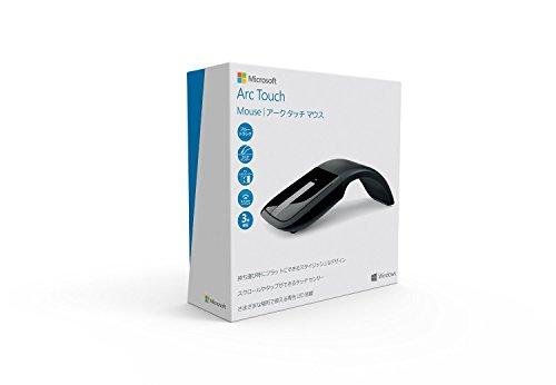『マイクロソフト ワイヤレス ブルートラック マウス Arc Touch Mouse ブラック RVF-00062』の5枚目の画像