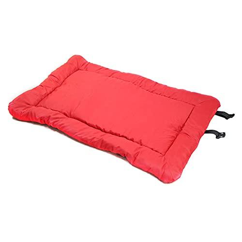 Alfombra grande portátil para perros, cama para dormir impermeable al aire libre cojines de viaje, estera del cojín