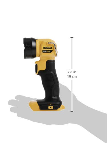 DEWALT 20V MAX LED Work Light / Flashlight (DCL040)