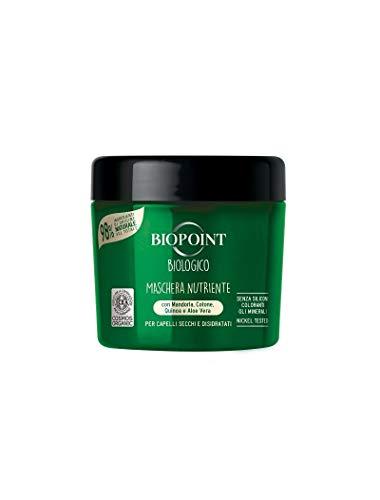 Biopoint Biologico Maschera Nutriente Capelli Secchi e Disidratati Certificato Cosmos Organic 200 ml