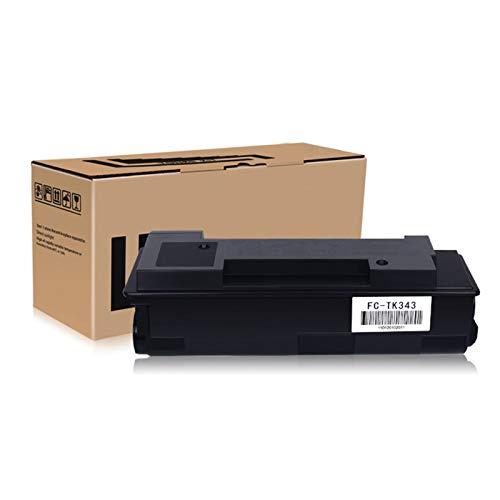 JZMY Cartucho de tóner para Kyocera FS-2020D FS-2020DN Modelo TK-343, servicio de alta definición de valor de negrura
