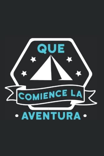 Camping Carpa Tienda Campaña Aventura - Camper Campamento Cuaderno De Notas: Formato A5 I 110 Páginas I Regalo Como Diario Planificador O Agenda