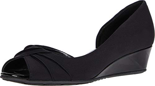 Bandolino womens Charli Pump, Black, 5 US