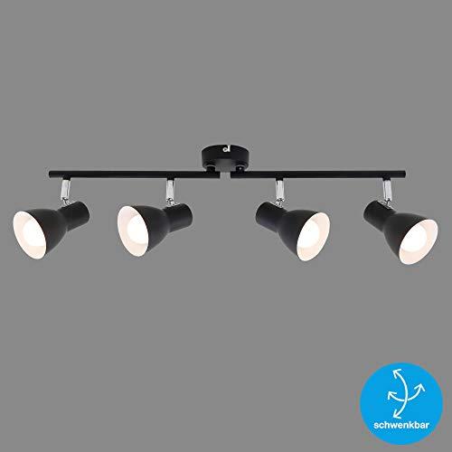 Briloner Leuchten wandlamp/plafondlamp, schijnwerper draai- en zwenkbaar, E14