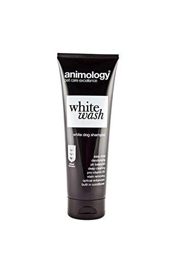 Animology White Wash Shampooing pour chien Détachant Facile à rincer Déodorant 250 ml