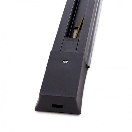 LEDUNI ® Carril Monofásico para Focos de Carril 2 Metros Color Negro Alimentación 220V Dimensión 1980X42X20H mm Aluminio