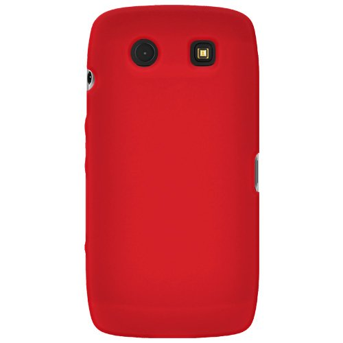 Amzer Silicone Skin Jelly Case for BlackBerry Torch 9850/9860 - Red