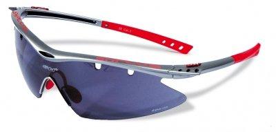 SH+ G41541400150101 - Occhiali da ciclismo, colore: Grigio Titanio