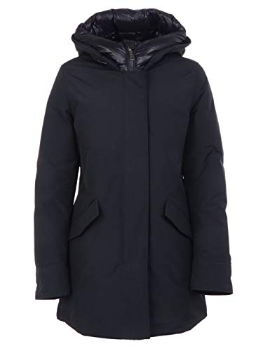 WOOLRICH Luxury Fashion Donna WWCPS2769UT0001DKN Blu Poliammide Giacca Outerwear | Autunno-Inverno 19