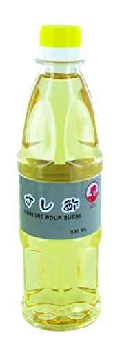 Vinaigre de riz pour sushi et maki 500ML - Marque Coq (1 bouteille)