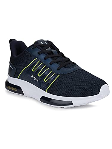 Campus Kids NICO-Child Navy/P.GRN Running Shoes -4 UK/India